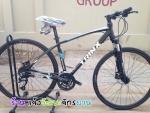(หมด) จักรยานไฮบริด TRINX รุ่น P600K สีดำน้ำเงิน