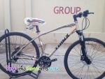 (หมด) จักรยานไฮบริด TRINX รุ่น P600K สีเทา