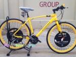 (หมด)จักรยานไฮบริด Chevrolet รุ่น R8 สีเหลือง