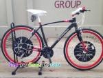(หมด)จักรยานไฮบริด Chevrolet รุ่น R8 สีดำ