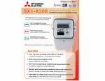 SX1-A30E มิเตอร์ ไฟฟ้าดิจิตอลMITSUBISHIแบบหนึ่งเฟสรุ่นมาตรฐาน  ราคา 1,500 .-