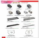 CAT 6 XG Connectors ดูรายละเอียดเพิ่มเติม  ราคาเริ่มต้น 180 .-