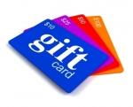 บัตรพลาสติกใส ขนาดเล็ก ผลิตบัตรสมาชิก Tags Gift Card