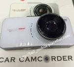 AT66A DVR กล้องติดรถยนต์ 2 กล้อง แบบแยก ด้านหน้า 1080p ด้านหลัง 720p  สินค้าใหม่