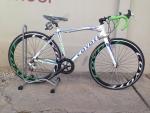 (หมด) จักรยานเสือหมอบ Coyote รุ่น Hover ขาวเขียว