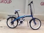 (หมด)จักรยานพับได้ Coyote รุ่น Black hawk ล้อ 20 นิ้ว สีน้ำเงิน