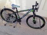 (หมด)จักรยานเสือภูเขา TWITTER รุ่น TW7000 ล้อ 27.5 สีเขียว