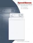 เครื่องซักผ้าฝาบนอัตโนมัติ Speed Queen รุ่น LWS17