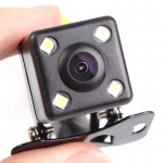 กล้องมองหลัง พร้อมไฟ LED 4ดวง มีเส้นกะระยะ  สินค้าใหม่มือ1