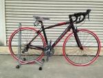 จักรยานเสือหมอบ MIR รุ่น Palazzo 16 สปีด เกียร์ตบ สีดำแดง