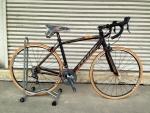 จักรยานเสือหมอบ MIR รุ่น Palazzo 16 สปีด เกียร์ตบ สีดำส้ม