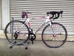 จักรยานเสือหมอบ PANTHER รุ่น MOVE เกียร์ตบ สีขาวแดง