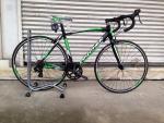 จักรยานเสือหมอบ PANTHER รุ่น MOVE เกียร์ตบ ดำเขียว