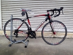 จักรยานเสือหมอบ PANTHER รุ่น MOVE เกียร์ตบ สีดำแดง