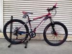จักรยานเสือภูเขา PANTHER รุ่น SPARK สีดำแดง