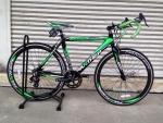 จักรยานเสือหมอบ Panther รุ่น March สีดำเขียว
