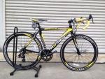 จักรยานเสือหมอบ Panther รุ่น March สีดำเหลือง