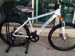 จักรยานเสือภูเขา Trinx รุ่น M306 สีขาวส้ม
