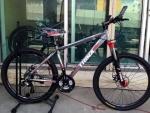 จักรยานเสือภูเขา Trinx รุ่น M306 สีเทาแดง
