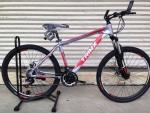 จักรยานเสือภูเขา TRINX รุ่น M136 ปี 2016 สีเทาแดง