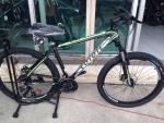 (หมด)จักรยานเสือภูเขา Coyote รุ่น Explore สีดำเขียว