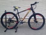 (หมด)จักรยานเสือภูเขา Coyote รุ่น ZEPPLIN ล้อ 27.5 สีดำแดง