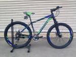 (หมด)จักรยานเสือภูเขา Coyote รุ่น ZEPPLIN ล้อ 27.5 ดำน้ำเงินเขียว