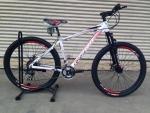 (หมด)จักรยานเสือภูเขา Coyote รุ่น ZEPPLIN ล้อ 27.5 สีขาวแดง