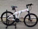 จักรยานเสือภูเขาพับได้ Trinx รุ่น KA2627 สีขาวแดง