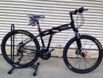 จักรยานเสือภูเขาพับได้ Trinx รุ่น KA2627 สีดำ
