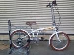 (หมด) จักรยานพับได้ WCI รุ่น Holiday ล้อ 20 นิ้ว สีขาว