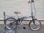(หมด) จักรยานพับได้ WCI รุ่น Holiday ล้อ 20 นิ้ว สีดำ