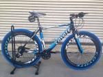 (หมด)จักรยานไฮบริด Coyote รุ่น GTS สีดำน้ำเงิน