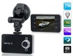 กล้องติดรถยนต์ HD DVR รุ่น K-6000 พร้อมฟังก์ชั่นตรวจจับการเคลื่อนไหว G-sensor สิ