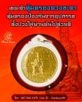 เหรียญแก้ชง เลี่ยมกรอบทองคำแท้ 90 % เล็ก