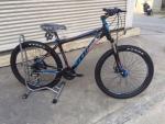 จักรยานเสือภูเขา MIR รุ่น ALPHA สีดำน้ำเงิน