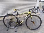 จักรยานเสือหมอบ MIR รุ่น MACEO ดิสเบรค ดำเหลือง