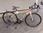 จักรยานเสือหมอบ MIR รุ่น MACEO ดิสเบรค ขาวส้ม
