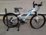 จักรยานเสือภูเขา TrinX รุ่น M134 รุ่นใหม่ ปี 2016 สีขาวฟ้า