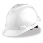 หมวกนิรภัย Safety Cap พร้อมสายรัดคาง (สีขาว)