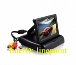 TFT LCD จอติดรถยนต์ มอนิเตอร์ แบบพับ จอ4.3 นิ้ว สำหรับต่อกล้องมองด้านหน้า หรือกล้องมองถอยหลัง หรือดูวีดีโอ ดีวีดี สินค้าใหม่มือ1