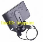 TFT LCD จอติดรถยนต์ มอนิเตอร์ ขนาดจอ 7 นิ้ว สำหรับต่อกล้องมองหลัง หรือมองด้านหน้า หรือวีดีโอ ดีวีดี สินค้าใหม่