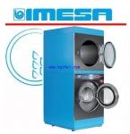 เครื่องซักผ้า18 kg. เครื่องอบผ้า18 kg.  Imesa รุ่น TDM18/18 ไฟฟ้า แก๊ส
