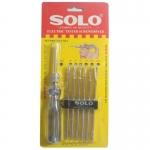 SOLO ไขควงลองไฟ 7 ตัวชุด รุ่น No.7000