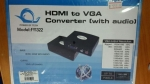 FY1322 HDMI TO VGA CONVERTER  hbmi to vga converter ( with audio )