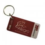 บัตรพลาสติกขนาดเล็ก มีเดียอาร์ต บัตรคีย์การ์ด แท็กติดกระเป๋า ป้ายชื่อ ทำบัตรเจาะรูร้อยพวงกุญแจพกสะดวก