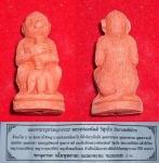พญาลิงลมหลวงพ่ออนันต์ วัดบางพลีน้อย เนื้อผงแดง สวย สูงประมาณ ๓ ซม.