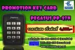 โปรโมชั่นคีย์การ์ด PEGASUS PP-87N ราคาพิเศษทั้งชุด 4,800.- ราคาเฉพาะเครื่อง PP-8