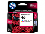 HP 46 ตลับหมึกอิงค์เจ็ท 3สี Tri-Color Original Ink