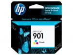 HP 901 ตลับหมึกอิงค์เจ็ท 3สี Tri-Color Original Ink